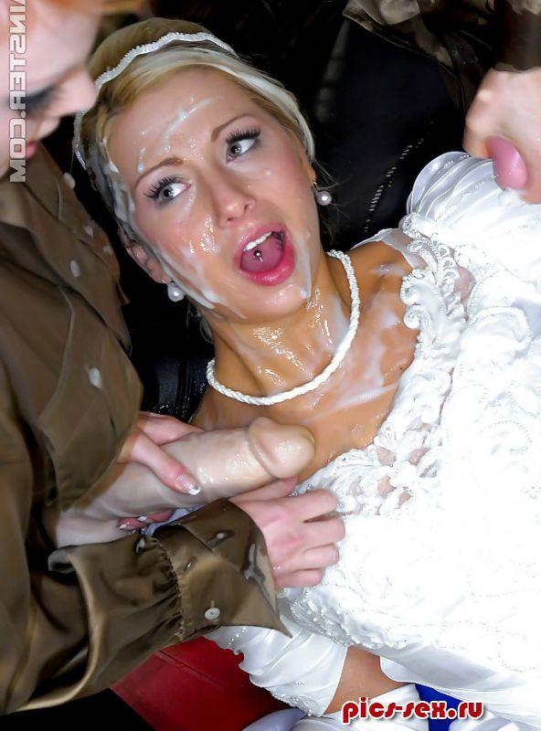 фотографии сосущих невест и в сперме